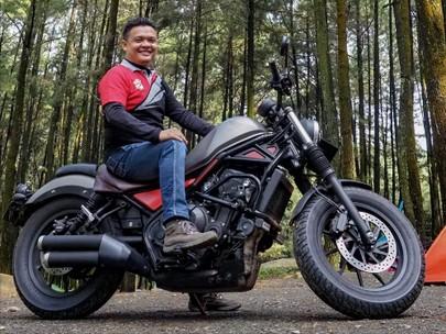 Tambah Sedikit Aksesori Honda CMX500 Rebel Kian Ciamik