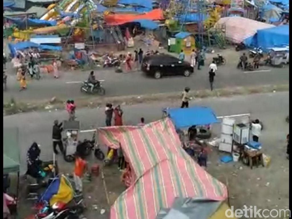 Angin Puting Beliung Terjang Lokasi Pesta Rakyat di Aceh, 8 Terluka