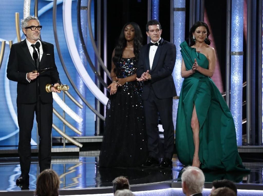 Roma Jadi Film Berbahasa Asing Terbaik di Golden Globe 2019