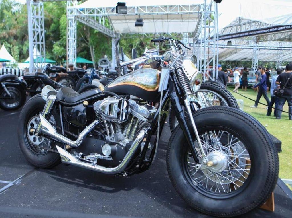 Perang Motor Custom Sambangi Pulau Bali