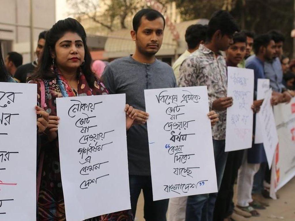 Cerita Ngeri Pemilu dari Bangladesh
