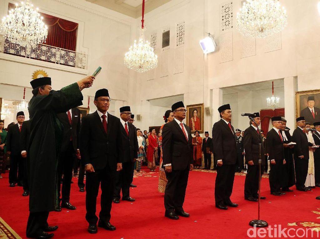 Sah! 16 Dubes RI Resmi Dilantik Jokowi