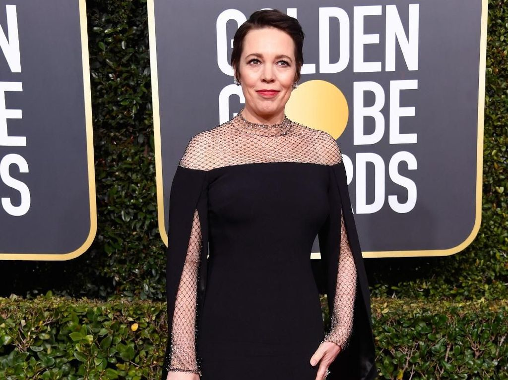 Akting Olivia Colman di The Favourite Diganjar Piala Golden Globe 2019