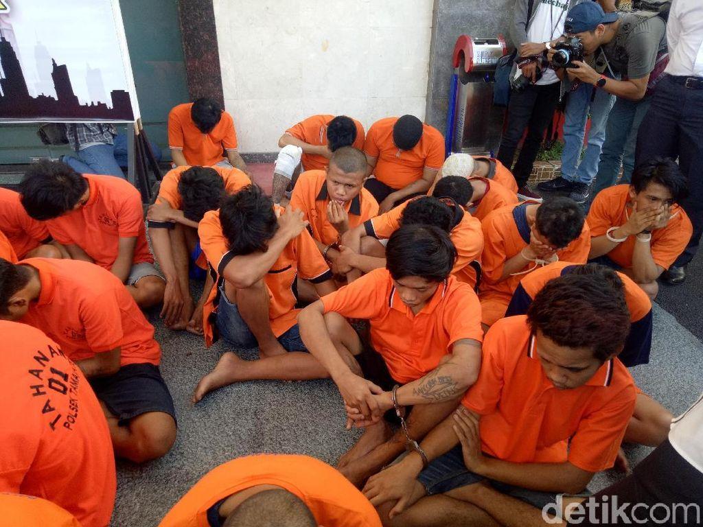 26 Begal Sadis di Makassar Diciduk, 6 di Antaranya Ditembak