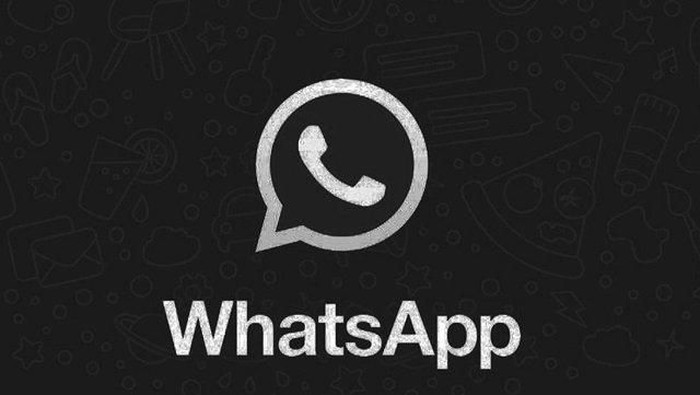 WhatsApp mode gelap (dark mode). Foto ilustrasi: Phone World