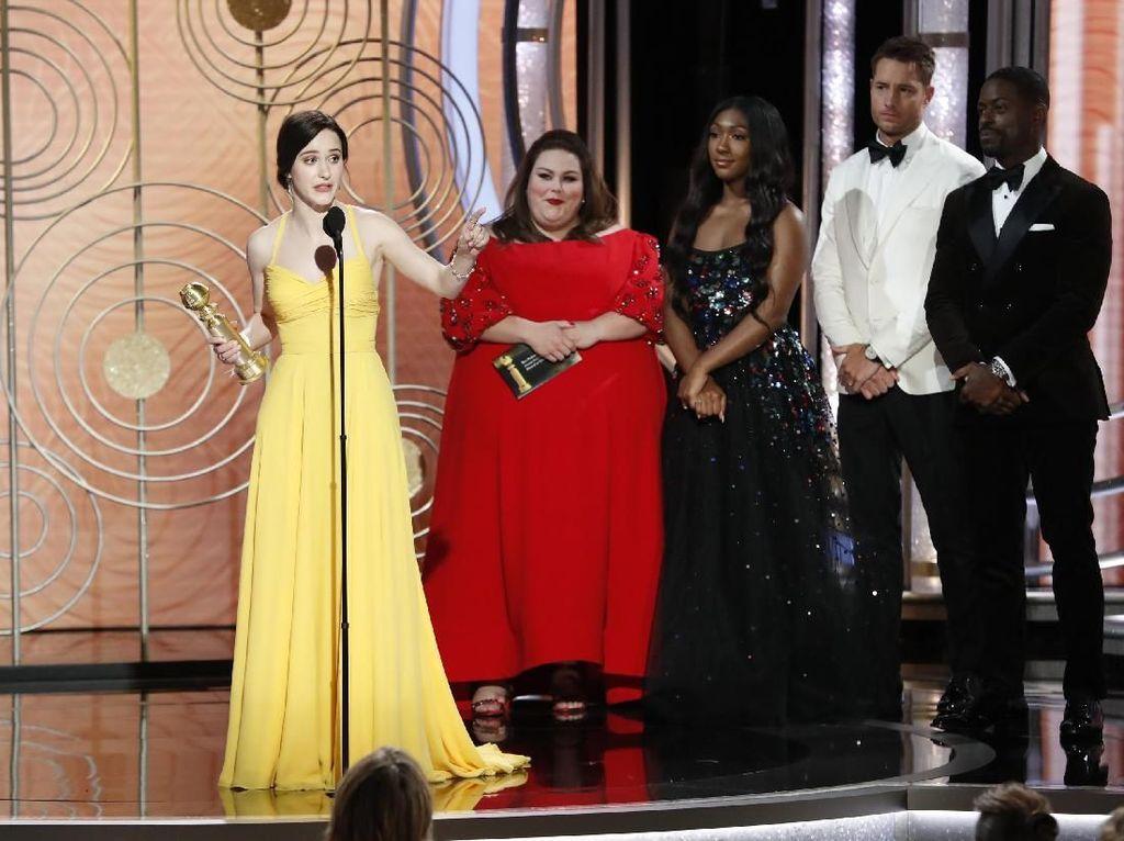 Rachel Brosnahan Aktris Terbaik di Serial Musikal Komedi Tahun Ini