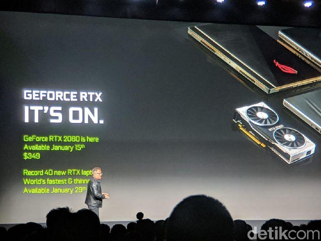 Nvidia Kenalkan Kartu Grafis Baru dengan Visual Lebih Realistis