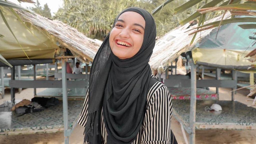 Manisnya Cut Nabilla, Hijabers Aceh Jago Panahan dan Anggar