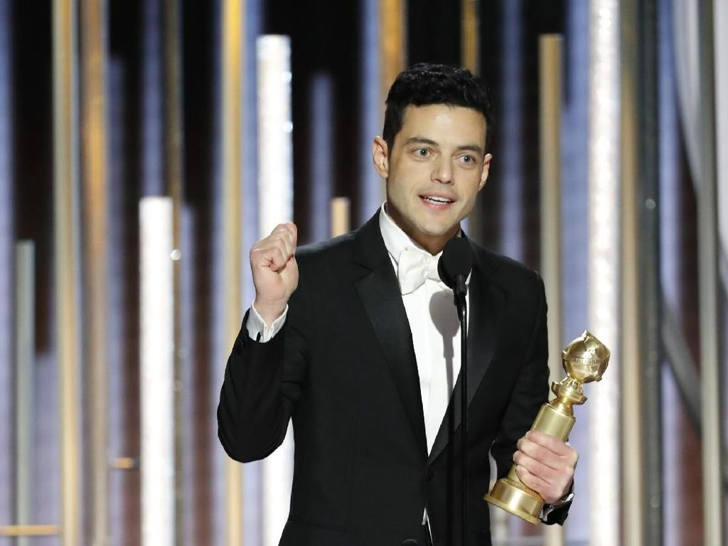 Menang di Golden Globe, Rami Malek Beri Penghormatan untuk Queen