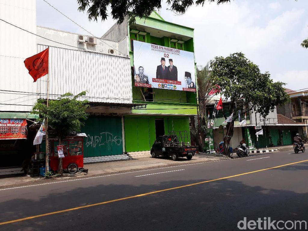 Satu Lagi Posko Prabowo Didirikan Dekat Rumah Jokowi di Solo