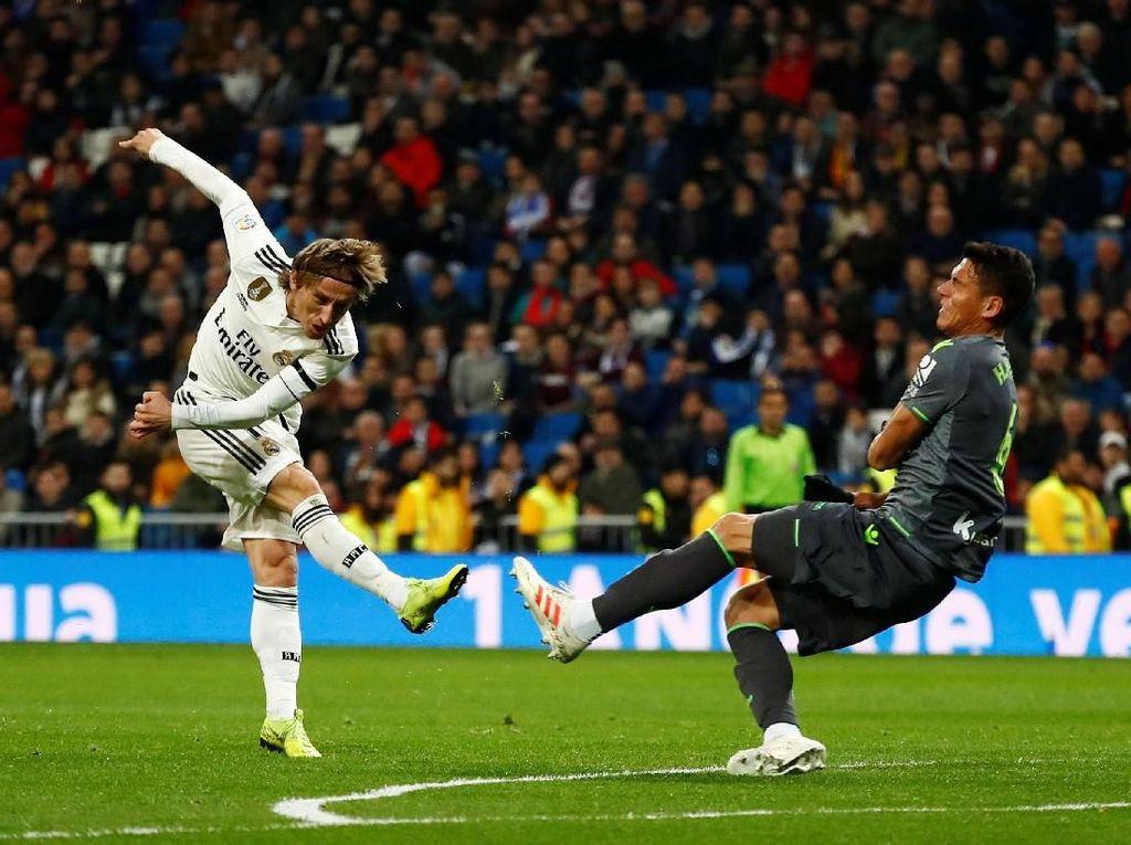 Madrid Kalah, Modric: Bolanya Tak Mau Masuk Gawang