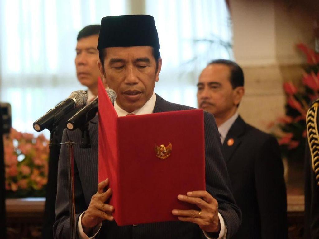 Jokowi Lantik 16 Dubes dan Saksikan Sumpah Jabatan 7 Anggota LPSK