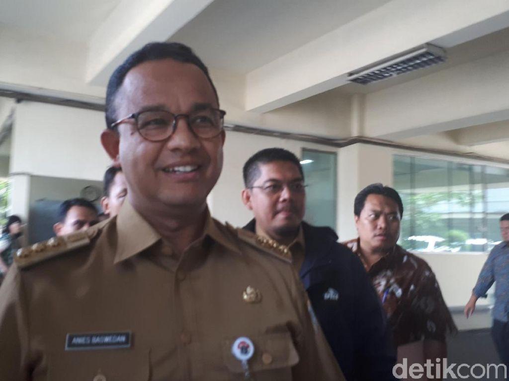 Anies Lantik Tujuh Pejabat DKI Baru Hasil Lelang Jabatan
