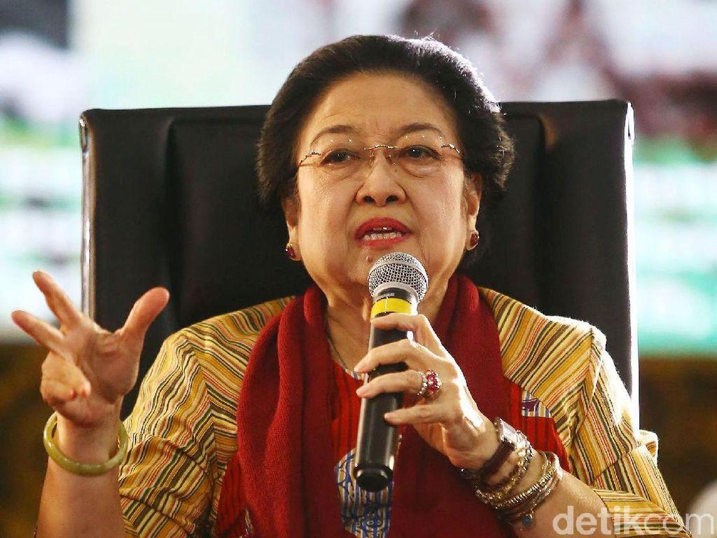 Megawati Pamer 3 Juta Pengurus PDIP: Nggak Ada Tempat yang Bisa Muat