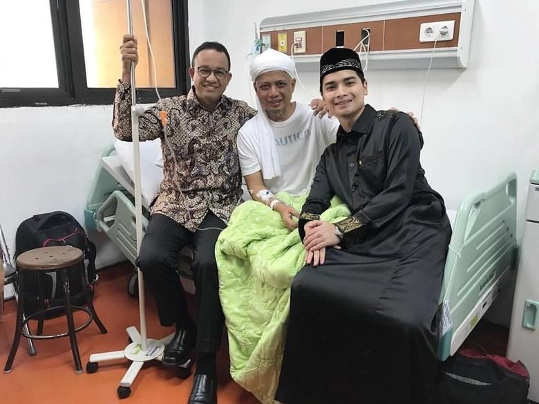 Ini Penyebab Ustad Arifin Ilham Dilarikan ke Rumah Sakit Lagi