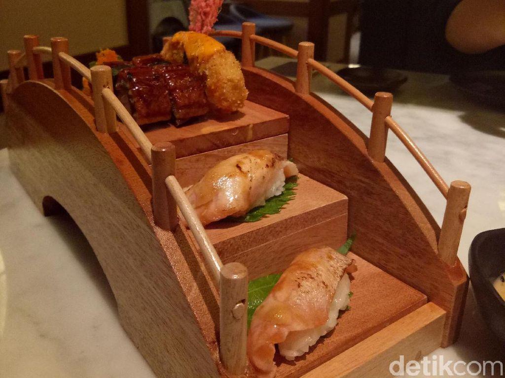 Mencicip Suasana Jepang di Kintaro Sushi, Senopati