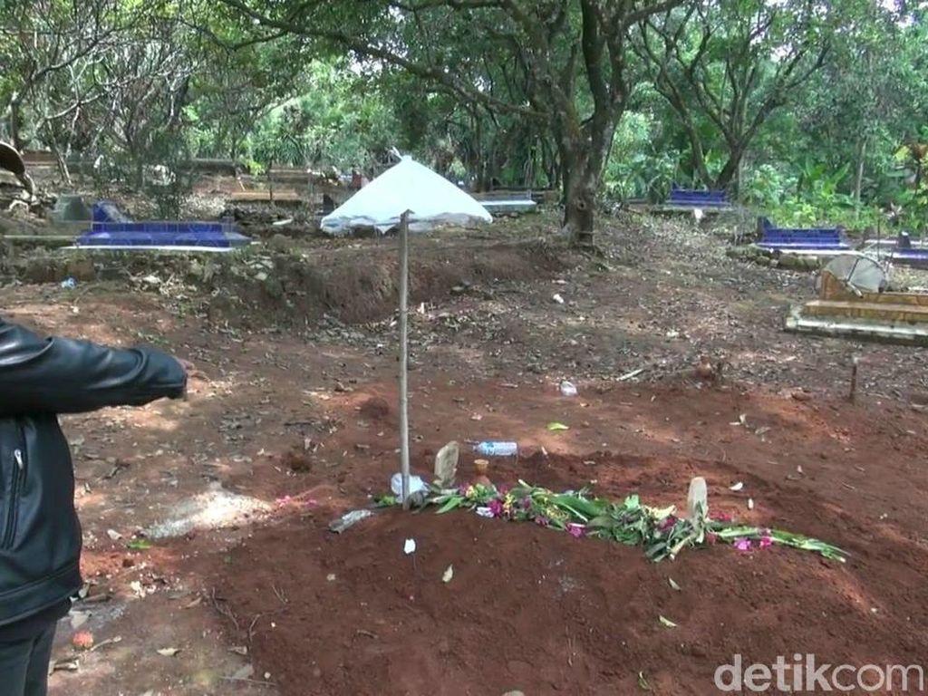 Heboh, Tali Pocong Jenazah yang 2 Hari Dimakamkan di Subang Raib