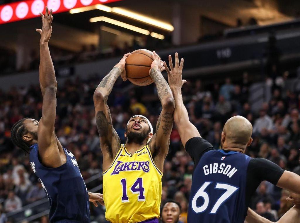 LeBron Masih Absen, Lakers Telan Kekalahan Ketiga Beruntun