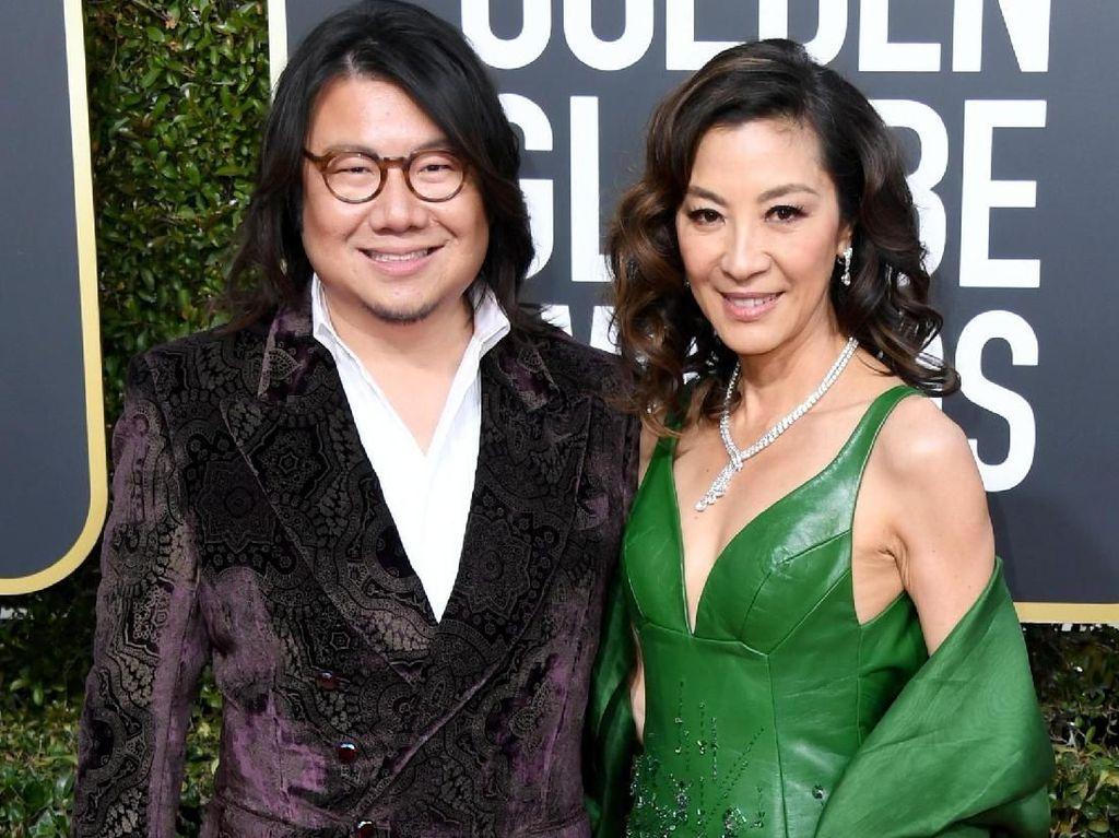 Gaya para Bintang Asia di Golden Globe 2019