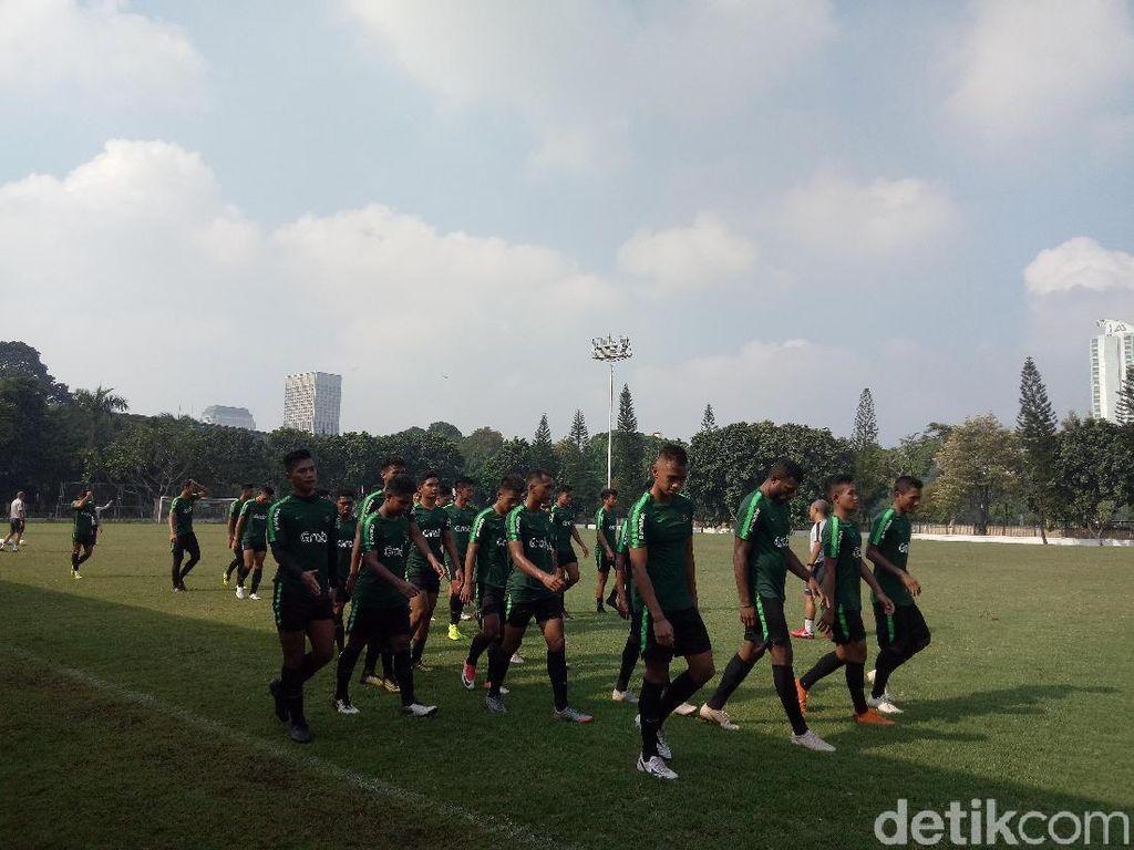Timnas U-22 Mulai Latihan Perdana, Lima Pemain Absen