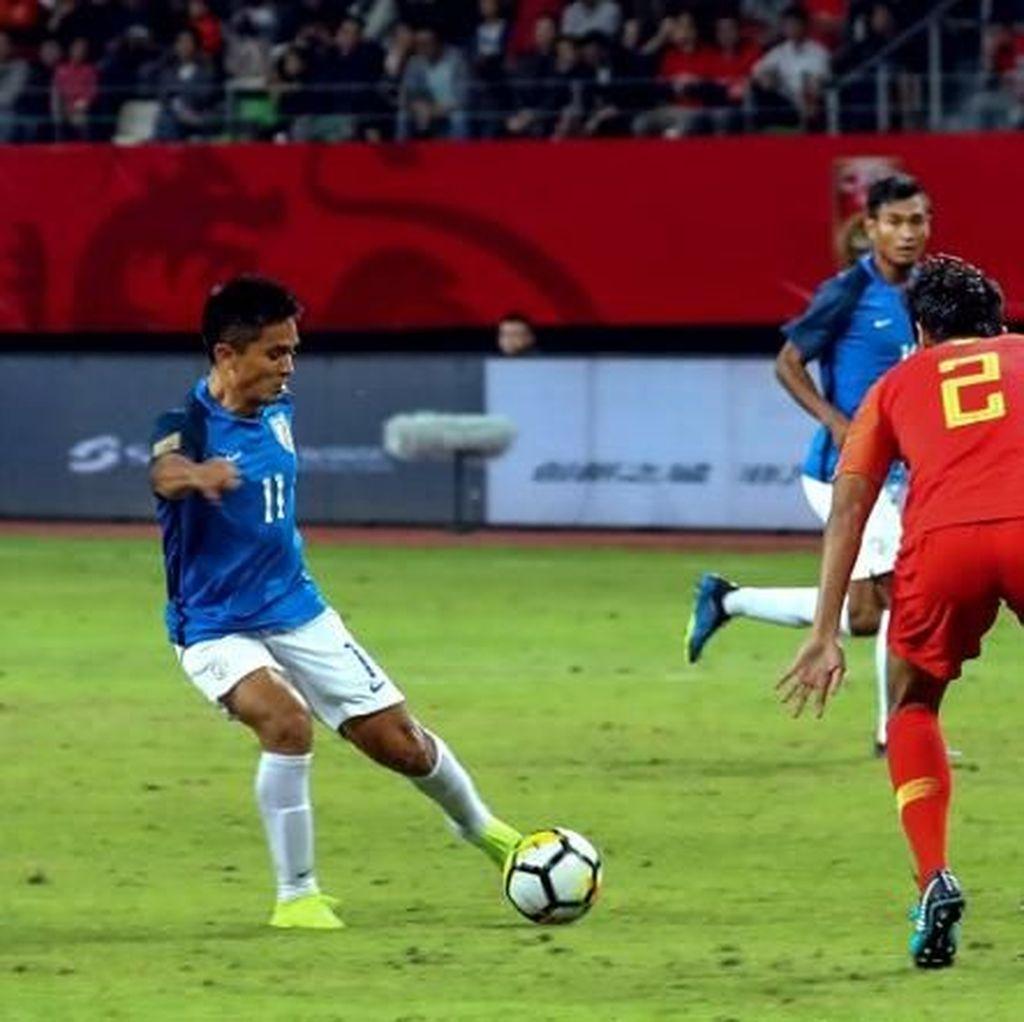 Di Piala Asia 2019, Penyerang India Lewati Torehan Gol Messi