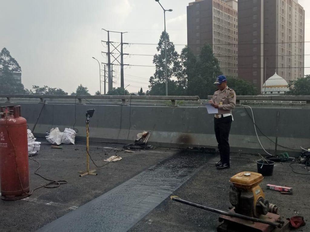 Perbaikan Flyover Rawabuaya Hampir Rampung, Segera Diuji Coba