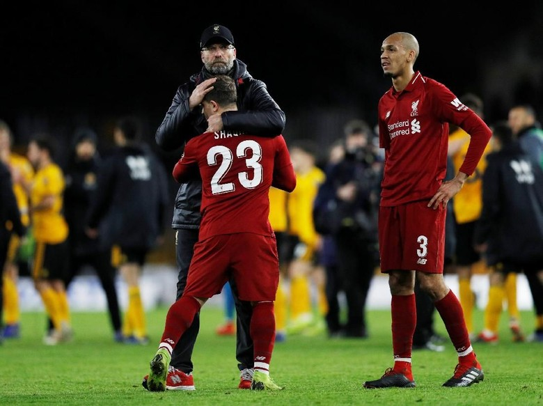 Liverpool Menurun Usai Pergantian Tahun