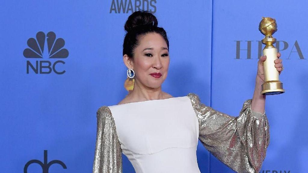 3 Gaya Memikat Sandra Oh, Aktris Asia yang Cetak Sejarah di Golden Globes
