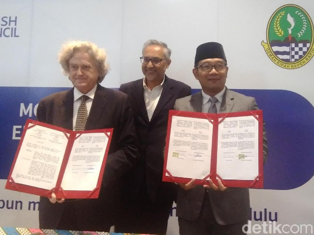 Ridwan Kamil Ingin Ulama Jabar Aktif di Forum Internasional
