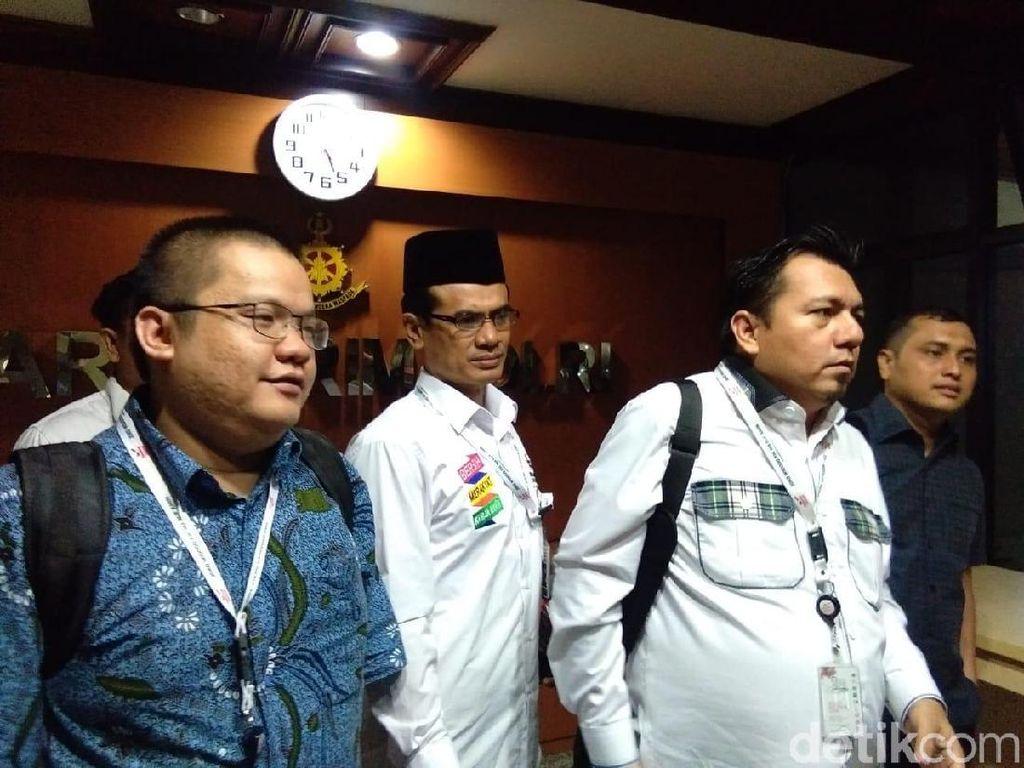TKN Jokowi Diperiksa Bareskrim 3 Jam soal Hoax Surat Suara Tercoblos