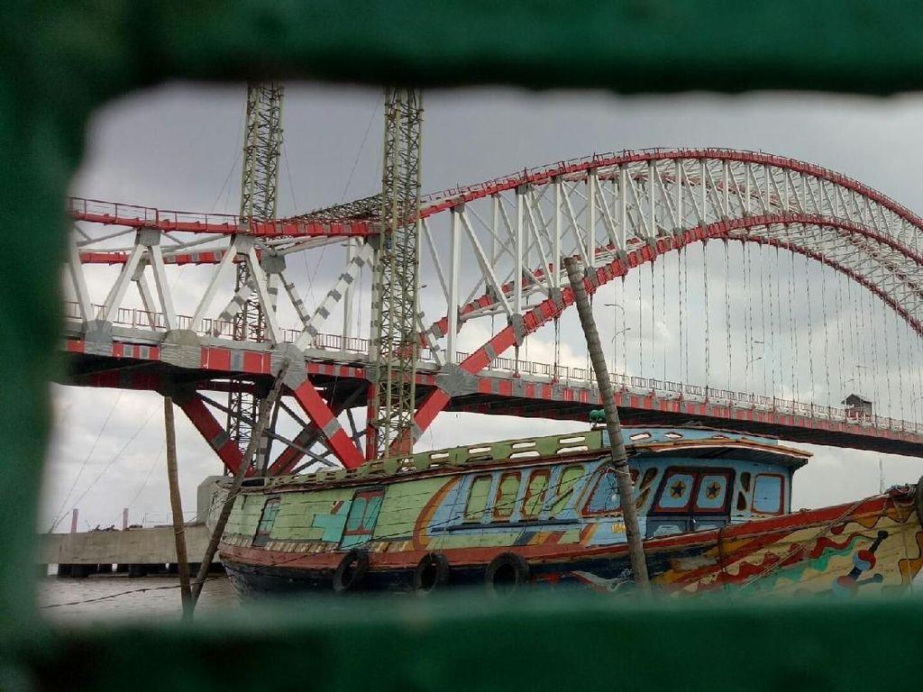 Ada Lahan Belum Bebas, Bagaimana Nasib Proyek Jembatan Musi VI?
