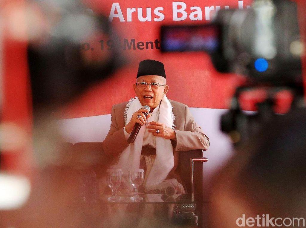Maruf Amin Resmikan Master C19 KMA