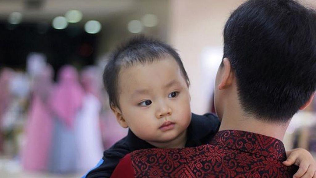 Intip 6 Foto Yusuf Alvin, Cucu Arifin Ilham yang Cute Banget