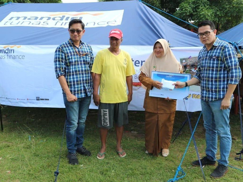 Bantuan untuk Korban Bencana Selat Sunda