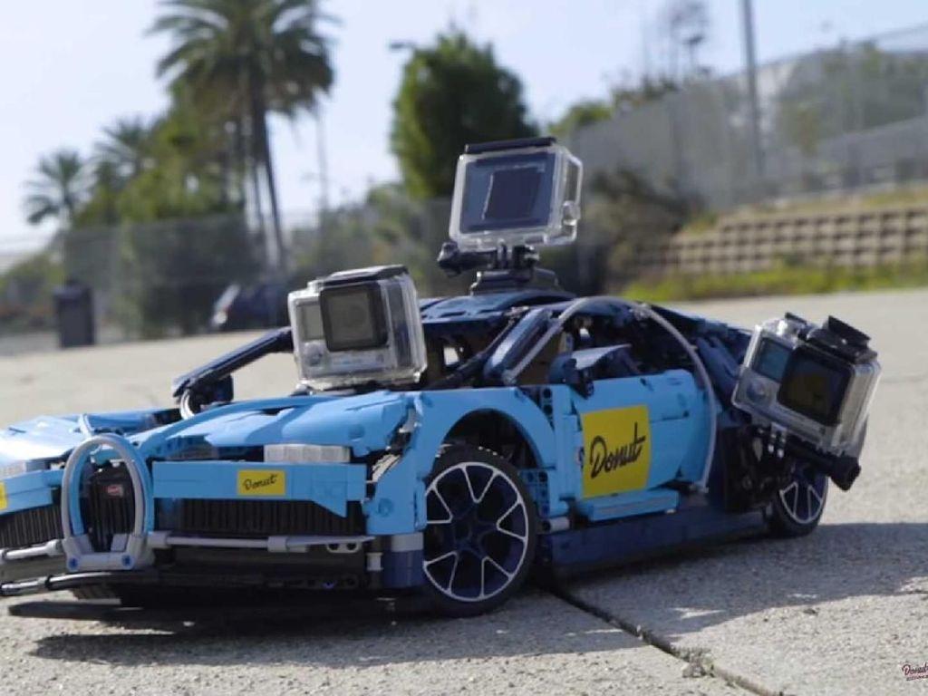 Seperti Asli, Lego Bugatti Chiron Tetap Bisa Ngebut