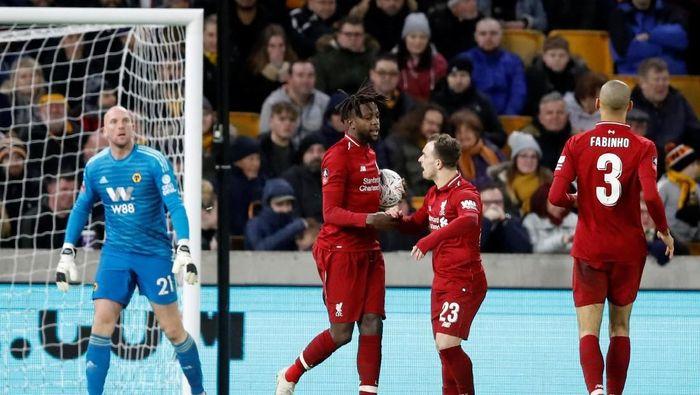 Liverpool tersingkir langsung di babak ketiga Piala FA 2018/2019 (Carl Recine/Reuters)