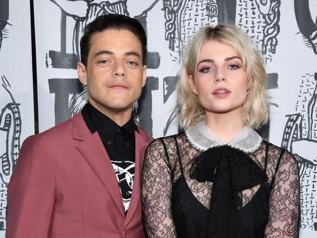 Kisah Cinta Rami Malek & Lucy Boynton, Lawan Mainnya di Bohemian Rhapsody