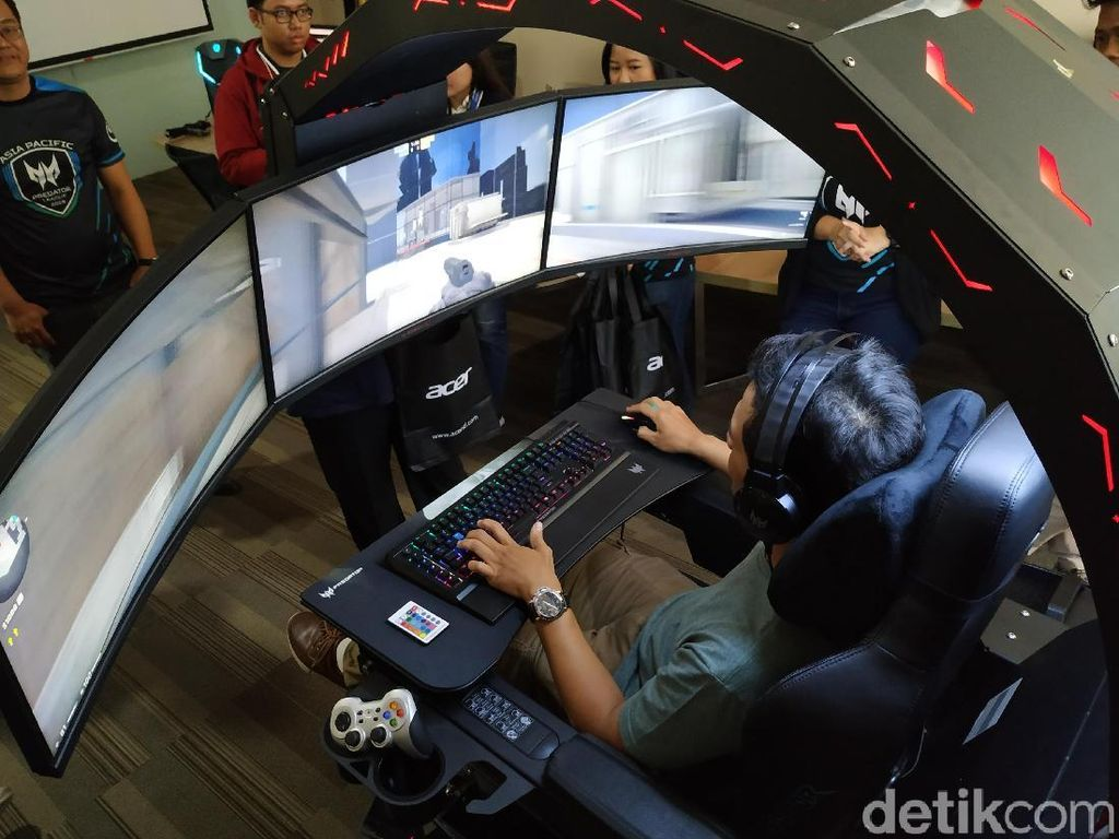 Kursi Gaming Kelas Sultan Predator Thronos Punya Dua Varian