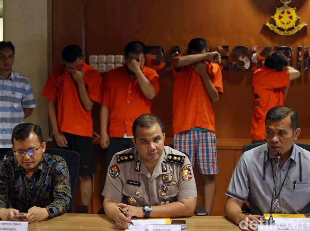 Penagih Utang Fintech Abal-abal Ditangkap Polisi