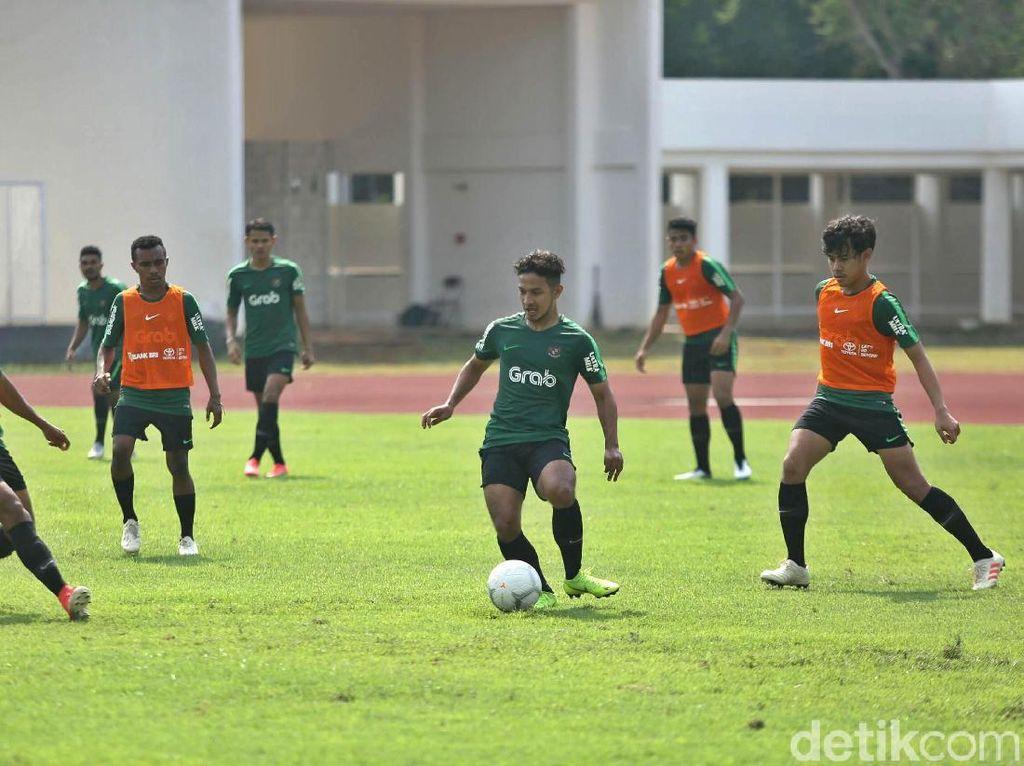Mengintip Latihan Garuda Muda Jelang Piala AFF U-22