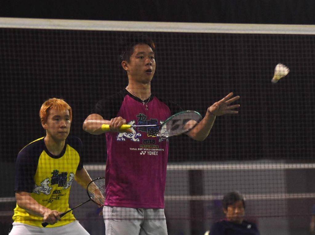 Cedera Pulih, Marcus Siap Dampingi Kevin di Malaysia Masters