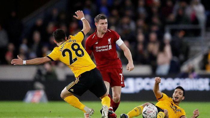 Liverpool disingkirkan Wolves di babak ketiga Piala FA 2018/2019 (Carl Recine/Reuters)