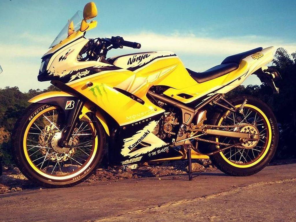 Modifikasi Ceria Ninja 150 RR