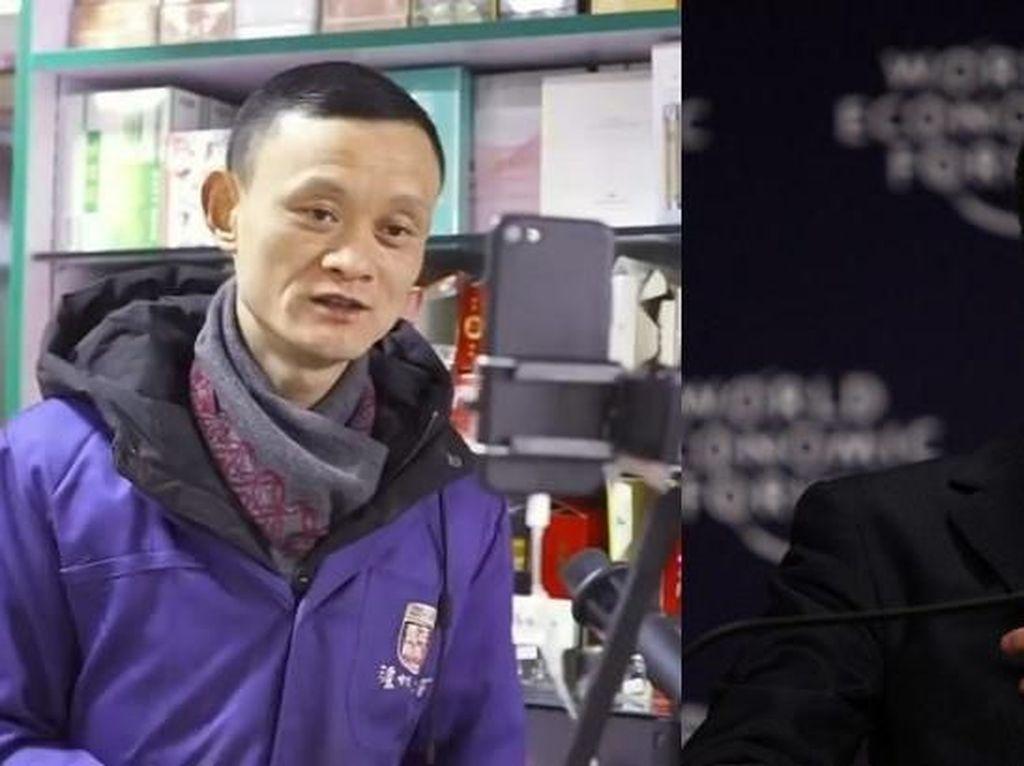 Mukanya Mirip Jack Ma, Pemilik Toko Kelontong Jadi Tenar