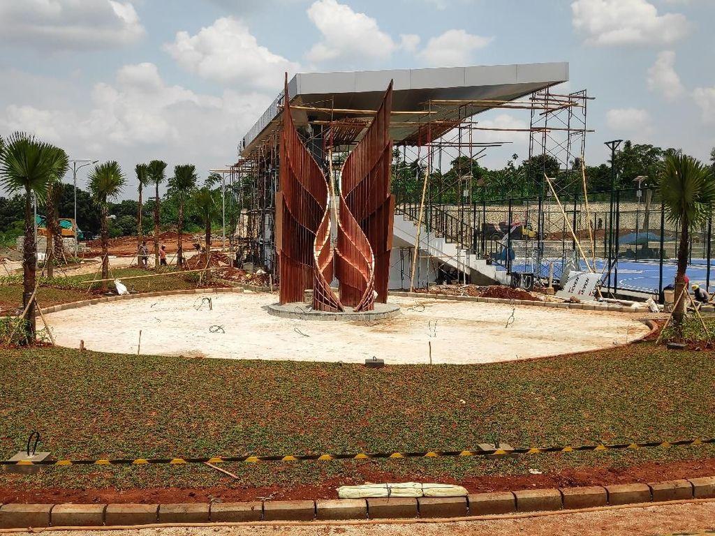 Pembangunan Alun-alun Kota Depok Selesai Akhir Januari