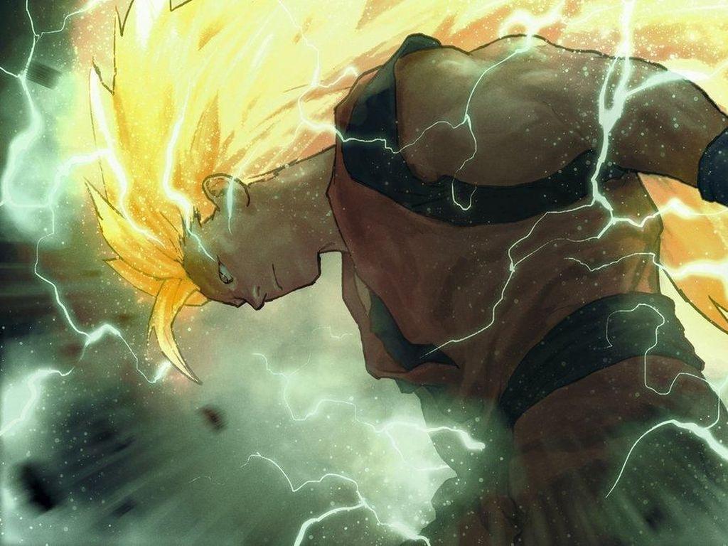 Gambar Dragon Ball Disulap ala Komikus Marvel
