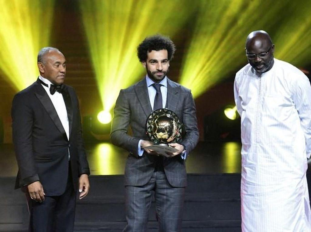 Mohamed Salah Pemain Terbaik Benua Afrika