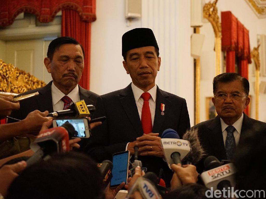 Pimpinan KPK Diteror, Jokowi: Cari Pelakunya Agar Jelas dan Gamblang