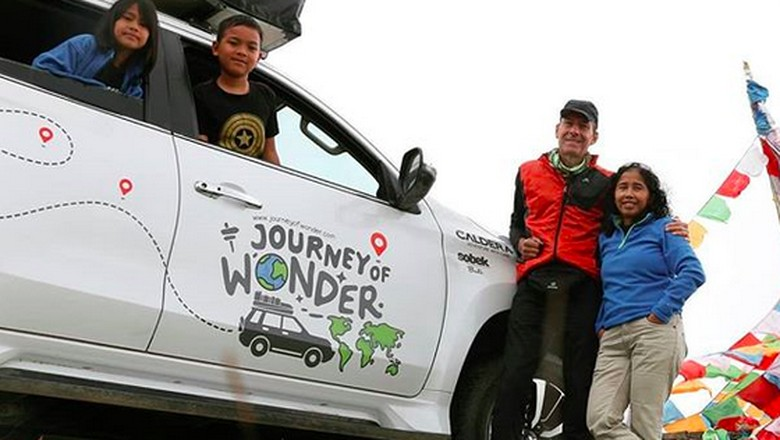 Foto: Instagram/Journey of Wonder