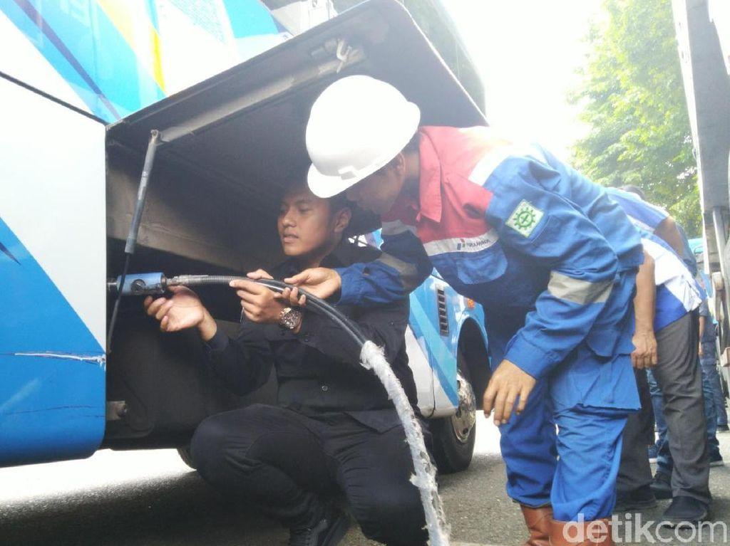 Gunakan Bus BBG, Semarang Tekan Emisi 6,1 Kilo Ton CO2